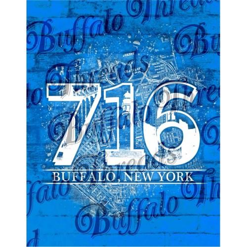 Buffalo NY 716 Poster
