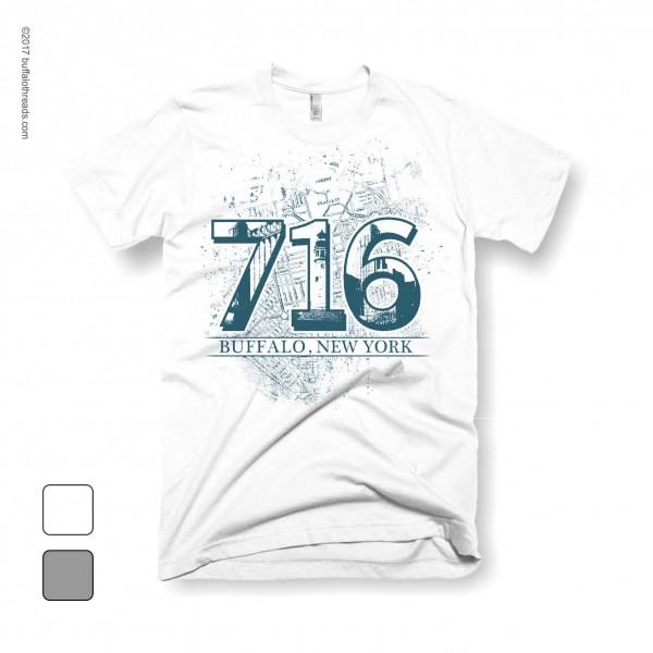Buffalo NY Tee 716